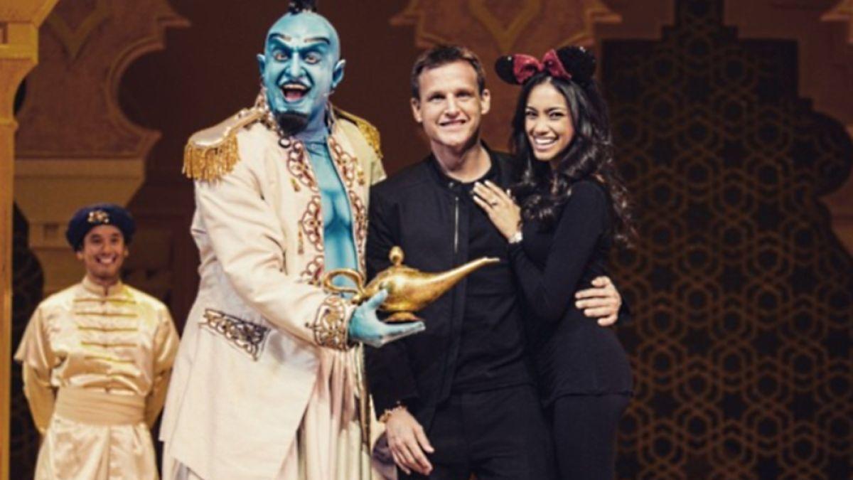 Rob Dyrdek Proposed To His Girlfriend In Fairy Tale Fashion Literally Rob Dyrdek Mtv Aladdin Show