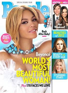 """""""I feel more beautiful than I've ever felt because I've given birth. I have never felt so connected, never felt like I had such a purpose on this earth,"""" Beyonce"""