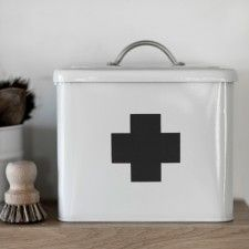 First Aid Box in Chalk