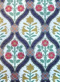 A. W. N. Pugin,  'Gothic Lily' Wallpaper