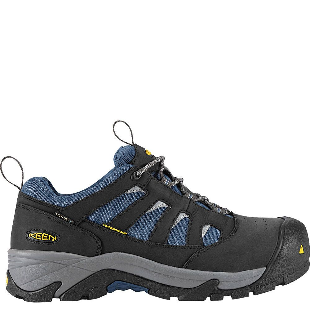 f001543be2 1008301 KEEN Men's Lexington Safety Shoes - Raven | Keen | Mens work ...