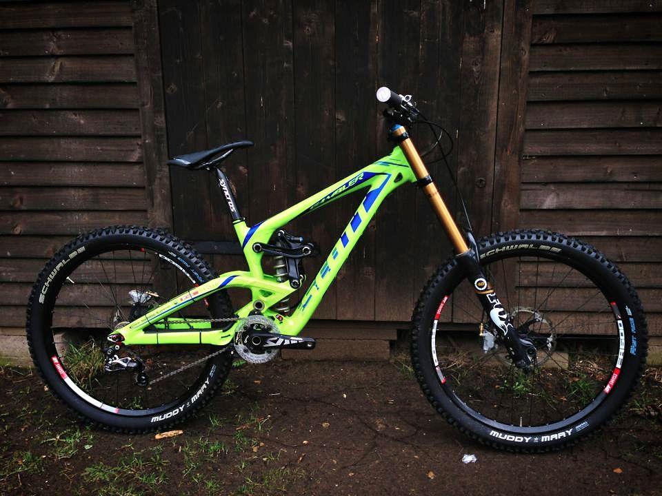 Brendan Fairclough S New Scott Gambler Sspomer Mountain Biking