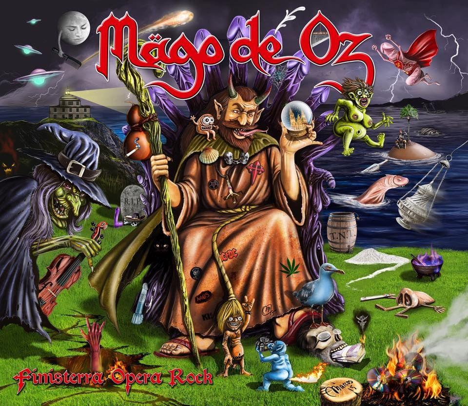 Mägo De Oz Finisterra Opera Rock 2015 Mago De Oz Frases Mago De Oz Mago