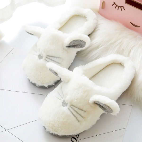 Photo of Cute Cat Slippers