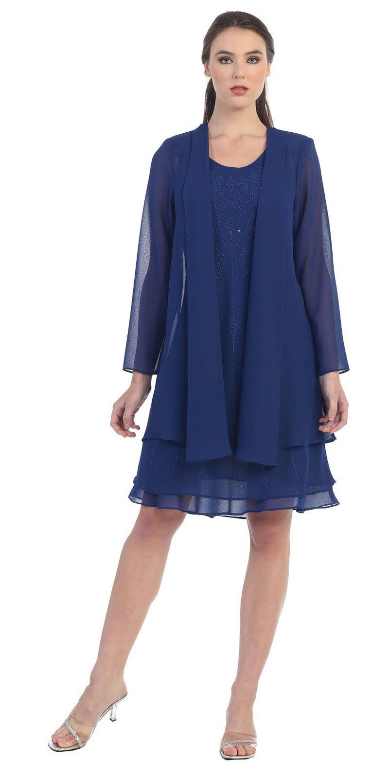 Flowy Knee Length Dresses