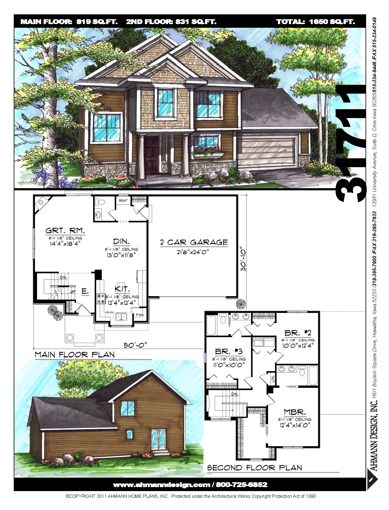 Traditional in style but craftsman in detail this two story home will blend easily into old and new neighborhoods massive support columns on the porch