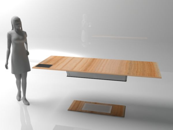 Magnetic Table Of The Future By Yana Christiaens A Levitating