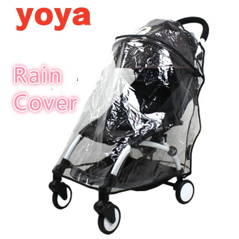 Raincoat For Stroller Wheelchair Pram Yoya Plus Accessories Yoyo Rain Cover Universal Baby Throne Carriers