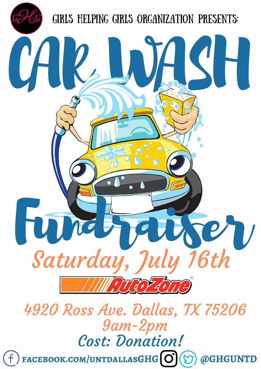 Car Wash Fundraiser Flyers Lovely Girls Helping Girls Ghguntd Car Wash Fundraiser Fundraiser Flyer Car Wash