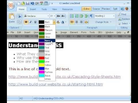25 video tutorials for getting started in web design web design css tutorial malvernweather Gallery