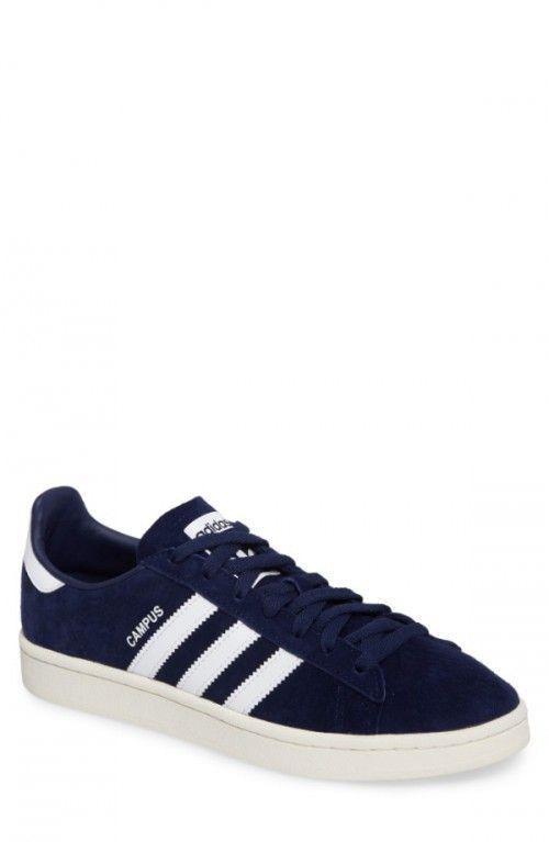 Adidas + Uomini + Campus + Scarpe + 6 + 5 + Blu Curiosare Tra Questi