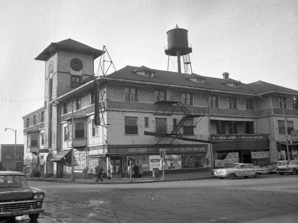 Victoria Hotel Chicago Heights Illinois 1961
