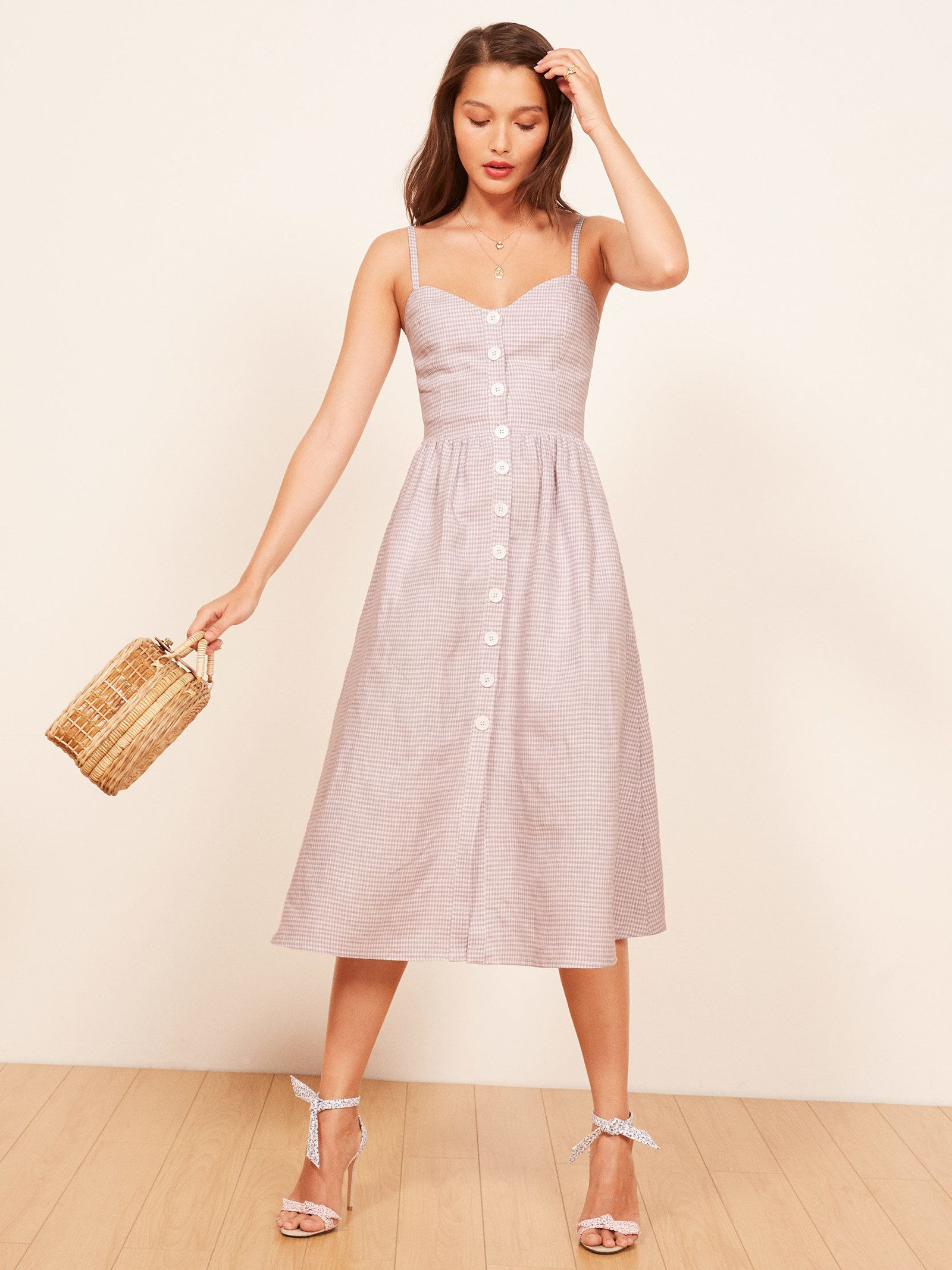 6315e0b54a4 Reformation Thelma Dress in color