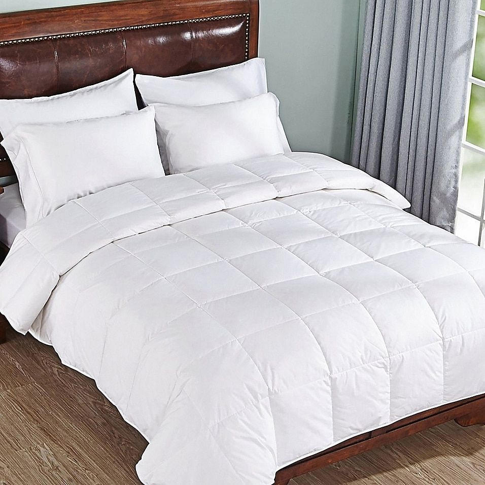 Photo of Peace Nest Lightweight Down Comforter In White