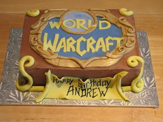 Ann Marie's Creative Cakes: World of Warcraft Cake | World of ...