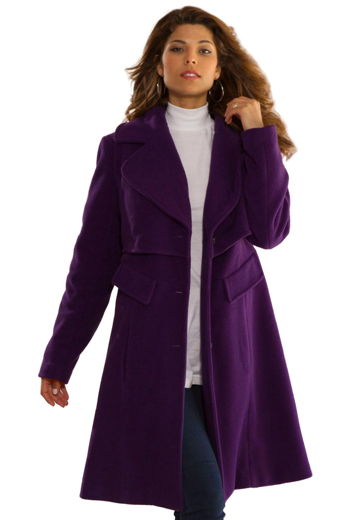 b5fad0d89 A-line Walker Coat