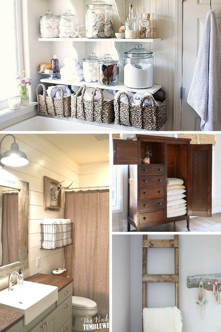 12 pretty linen storage ideas when you don t have a linen closet rh pinterest com