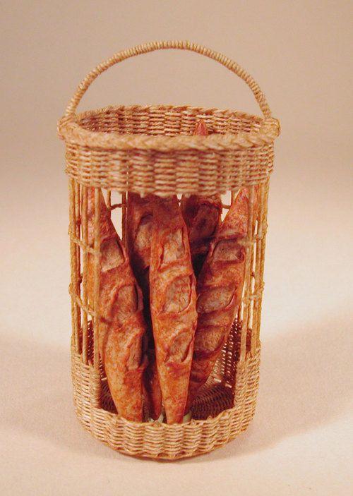 Zara Thomson Ribeaud Miniature Basketry
