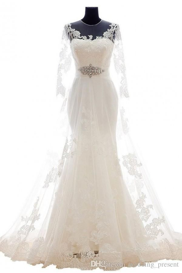 Buy wholesale high end crystal overlay lace wedding dresses 2017 with full long length mermaid stunning crystal bridal gowns custom made which is at a discount now. wedding_present has guaranteed its quality. knee length wedding dresses, lace mermaid wedding dress and lace wedding gowns are all in the list of superb dresses. #mermaidweddingdresses #laceweddingdresses