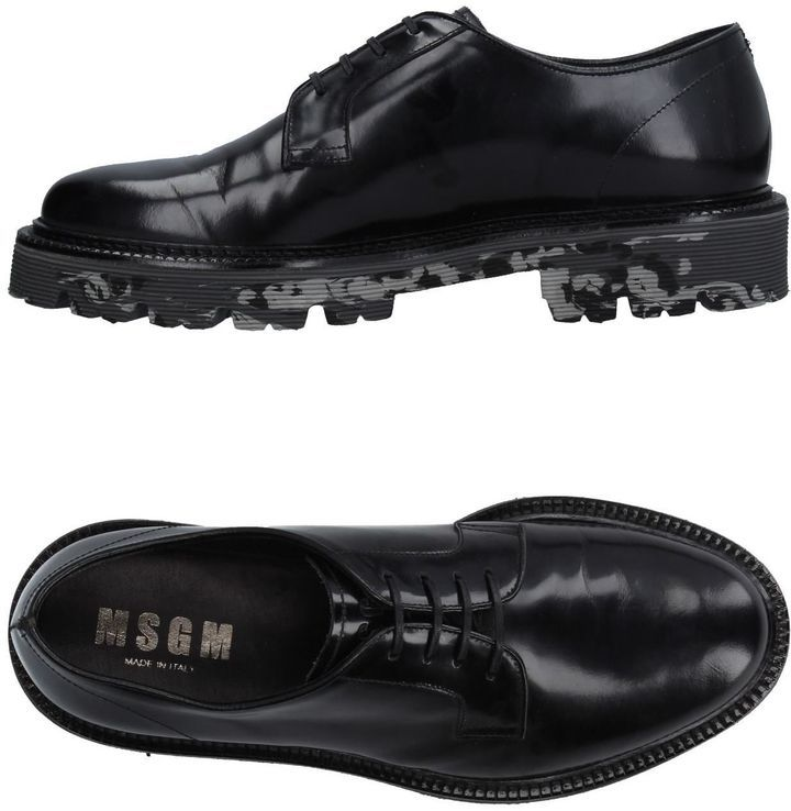 FOOTWEAR - Lace-up shoes Msgm g92ac