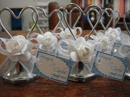 Campanas campanitas de acero para recuerdo de boda - Recuerdos de bodas para invitados ...