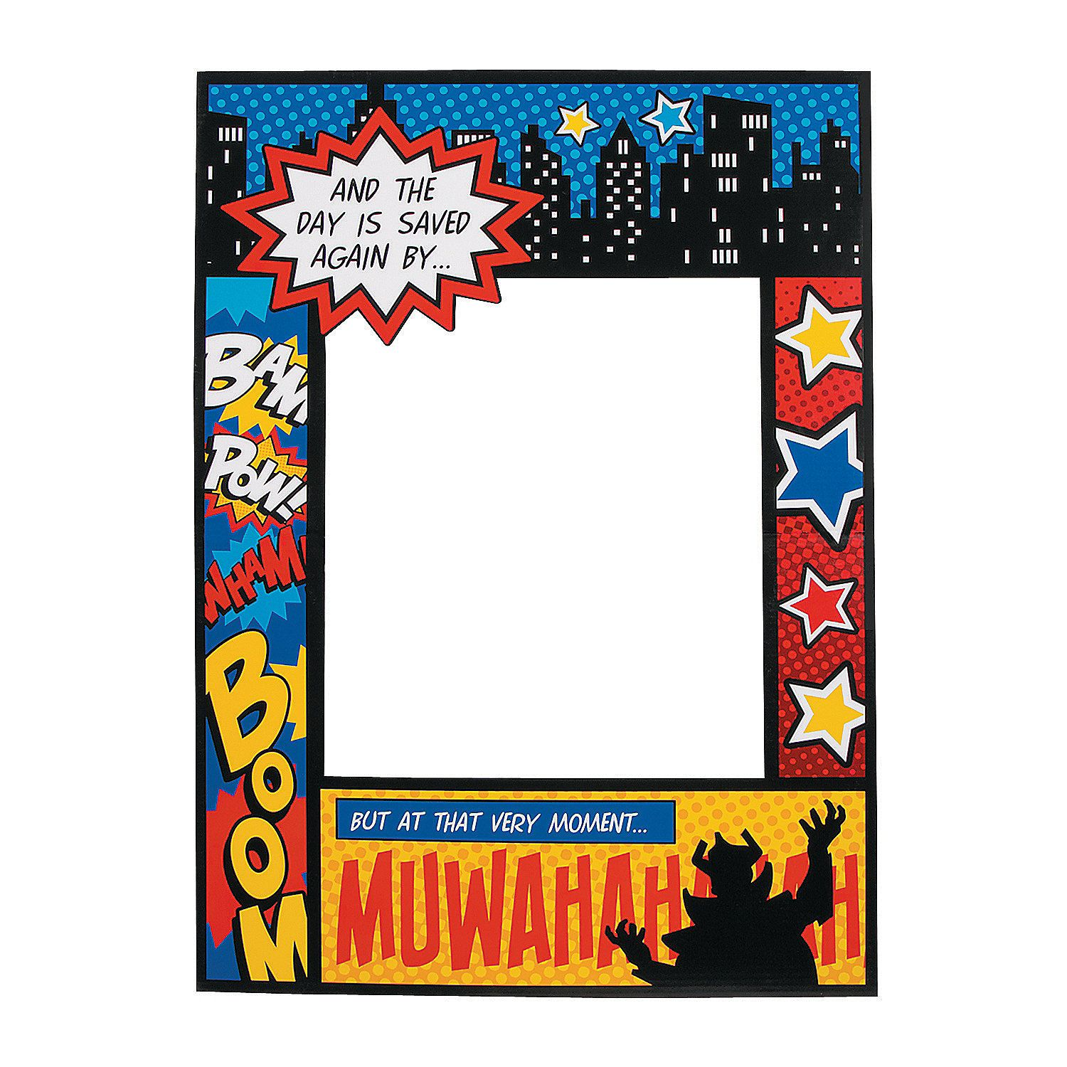 superhero comic book photo prop orientaltrading com cvs lit