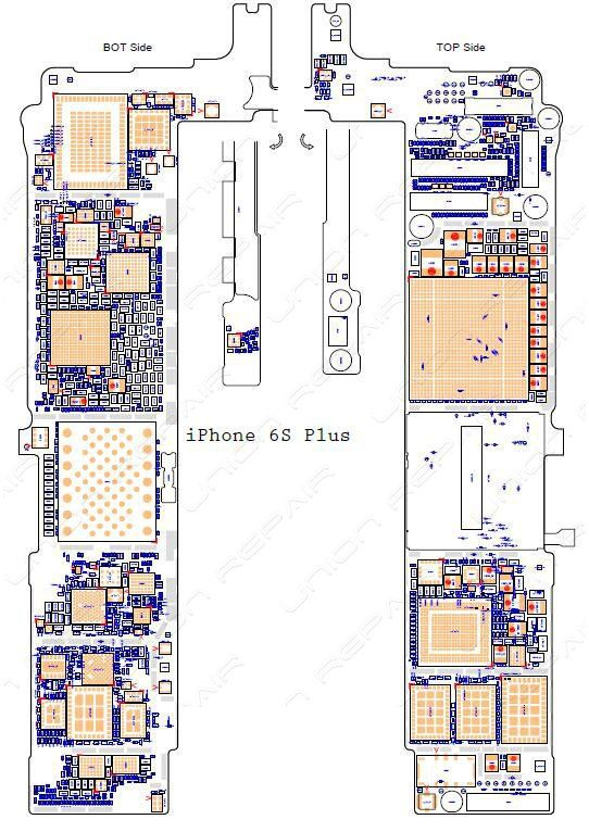 schematic diagram (searchable pdf) for iphone 6s /6s pluswe will send the schematic  diagrams by email once the payment done warning: these diagrams can be