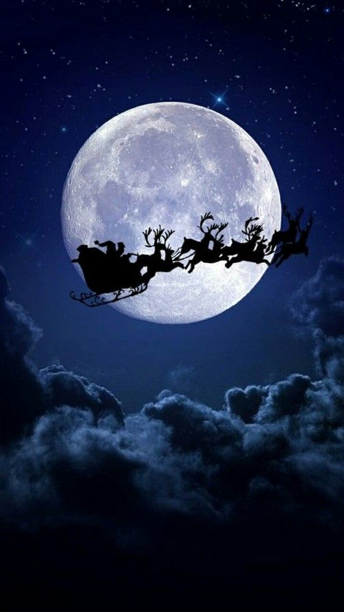 Santa Claus Is Coming!  ♡ on We Heart It christmas