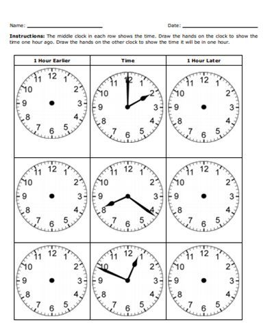 Free Printable Time Worksheet - Students can practice adding and ...