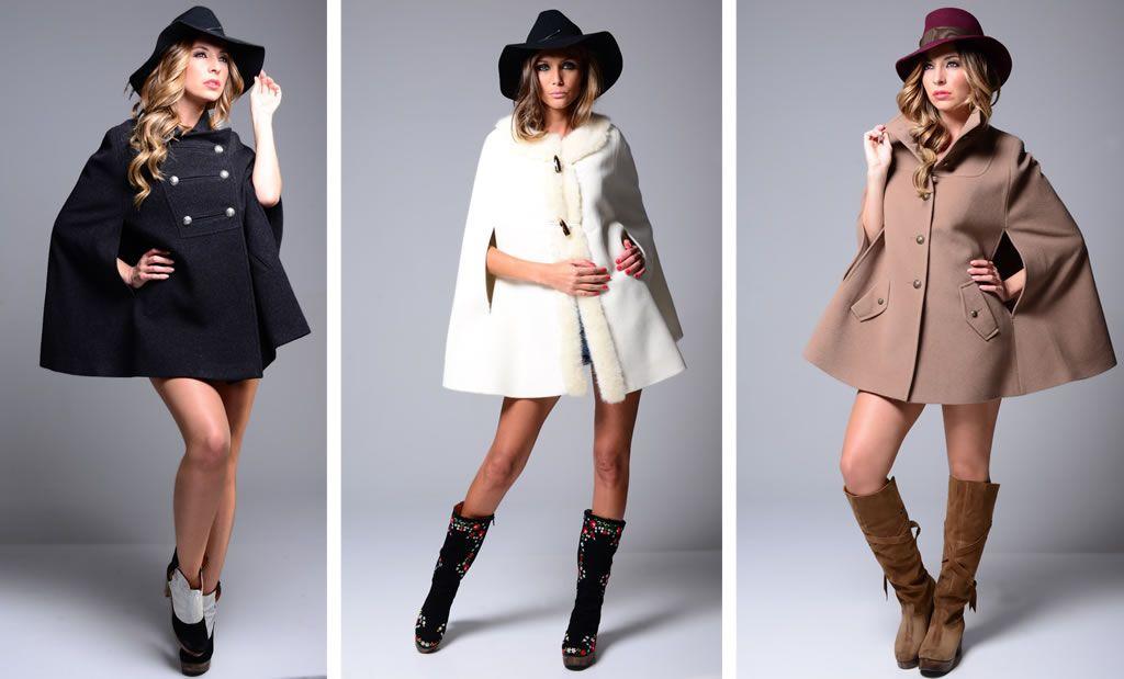 As capas são uma peça-chave para os dias de Outono/Inverno. Para além de se poderem usar por cima de outros casacos, quando conjugadas com mini-saias ou leggings ficam o máximo e muito femininas ;-) Adoro! <3 Estas são da Ruga. Temos fãs?