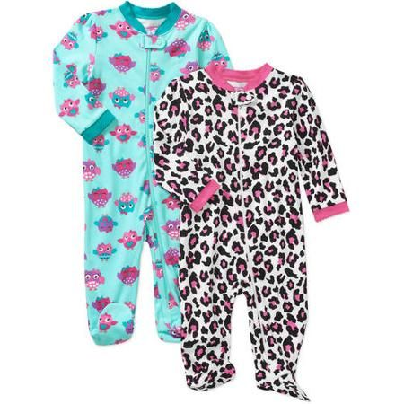 cbccc99477 Garanimals Newborn Baby Girl Cotton Sleep n  Play