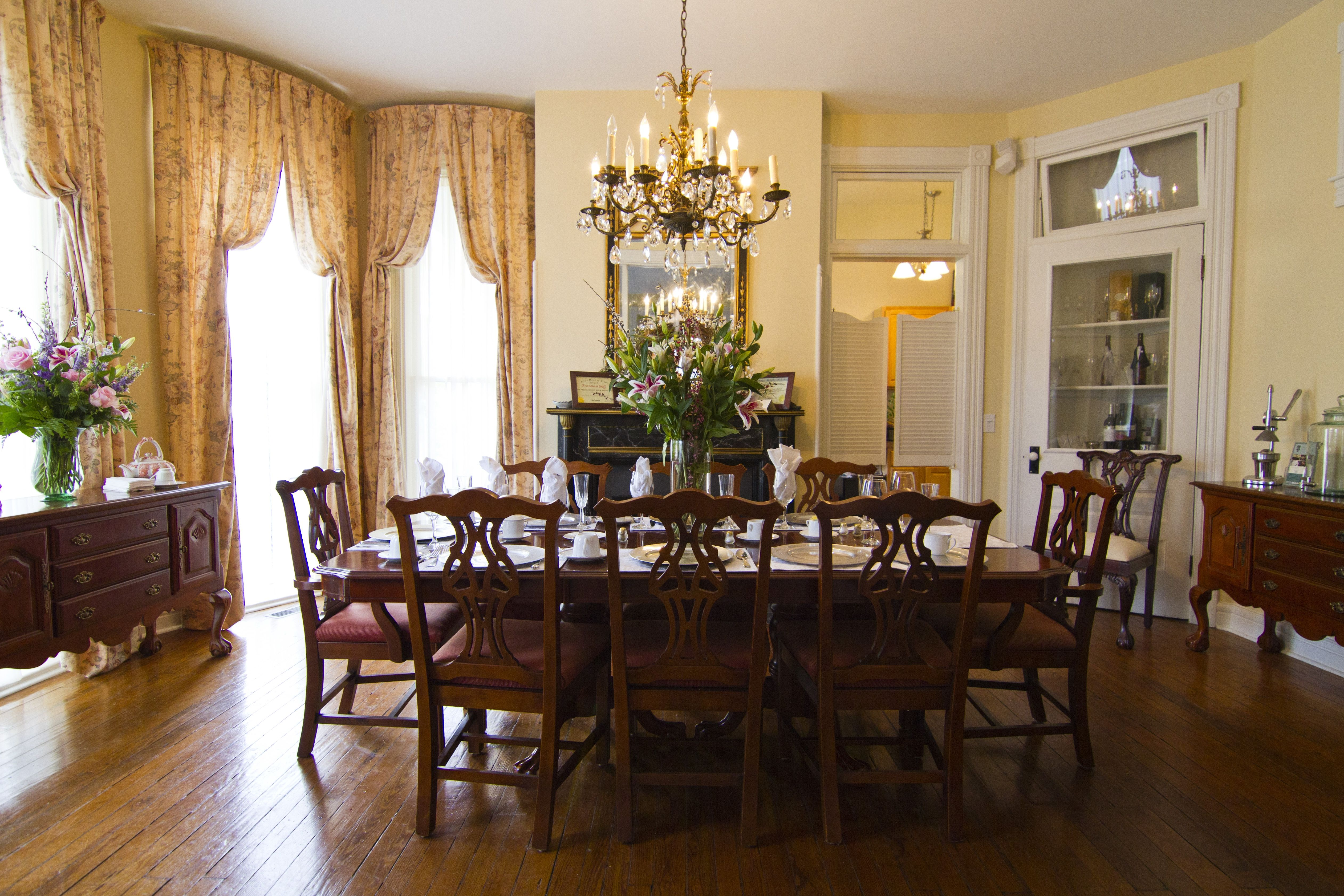 Victorian Dining Room, Victorian Dining Room