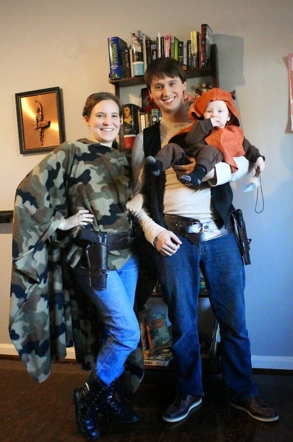 Our Geeky Adventure Crafting Adventures Leia on Endor Halloween Costume  sc 1 st  Pinterest & Our Geeky Adventure: Crafting Adventures: Leia on Endor Halloween ...