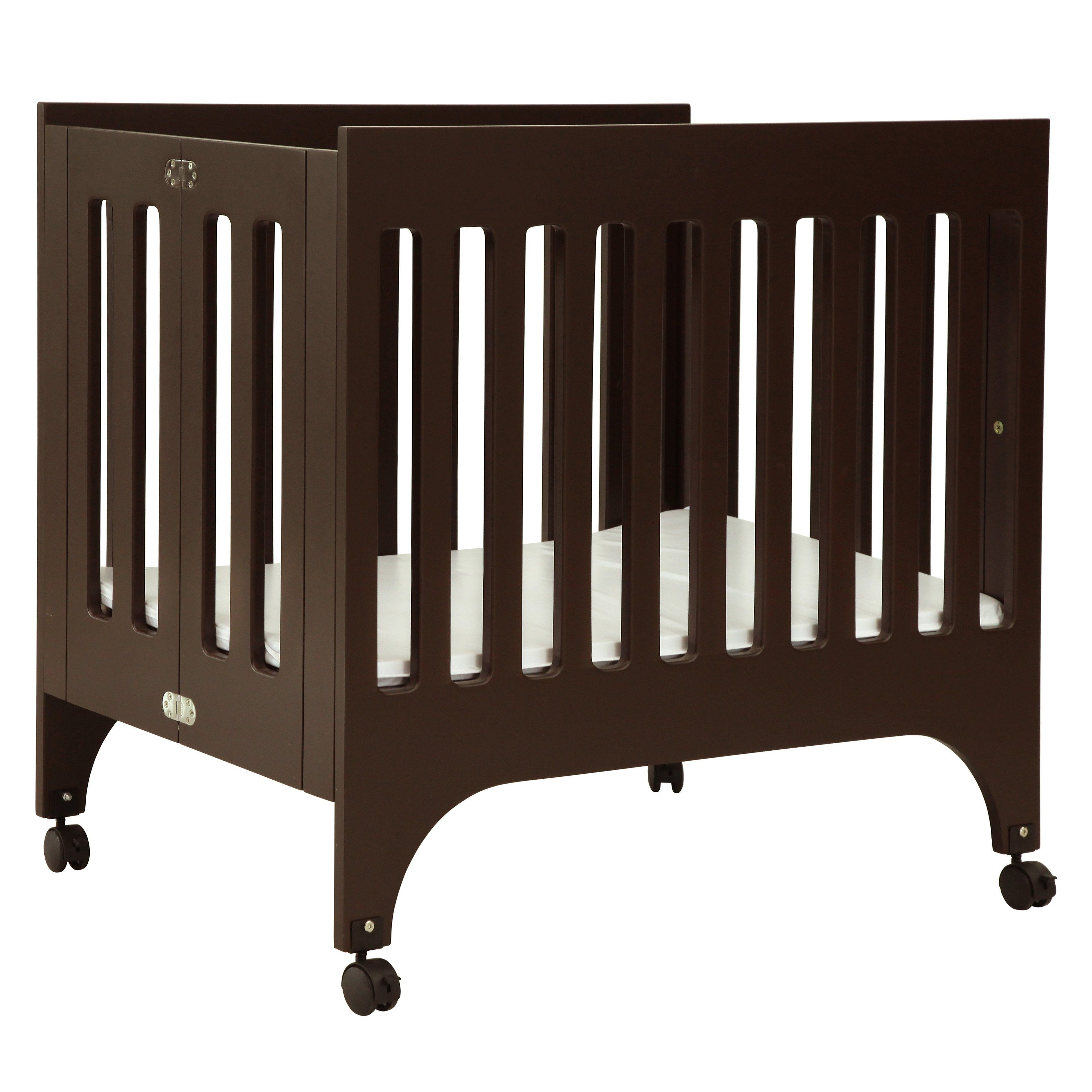 babyletto grayson - have to have it babyletto grayson mini crib with pad espresso