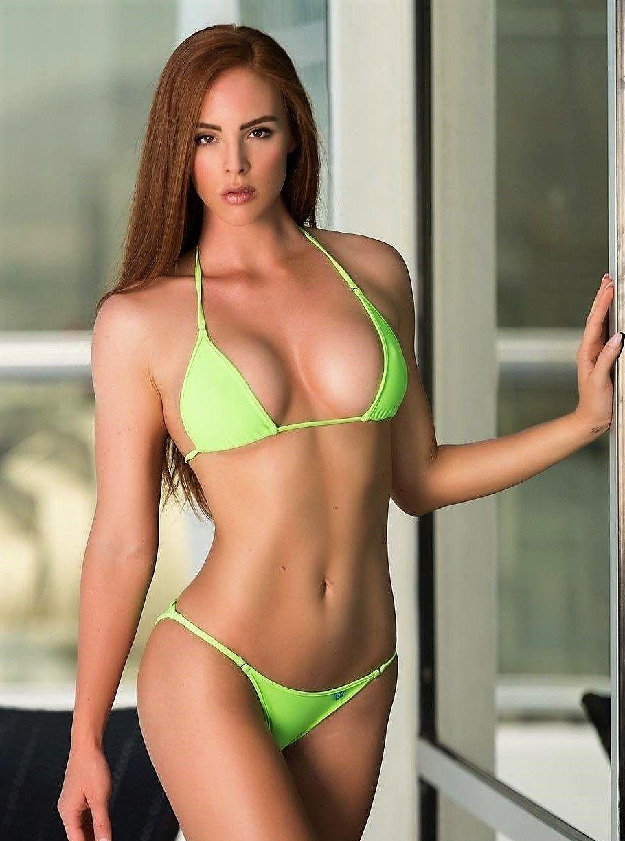 Sexy string triangle brazilian cheeky bikini swimsuit