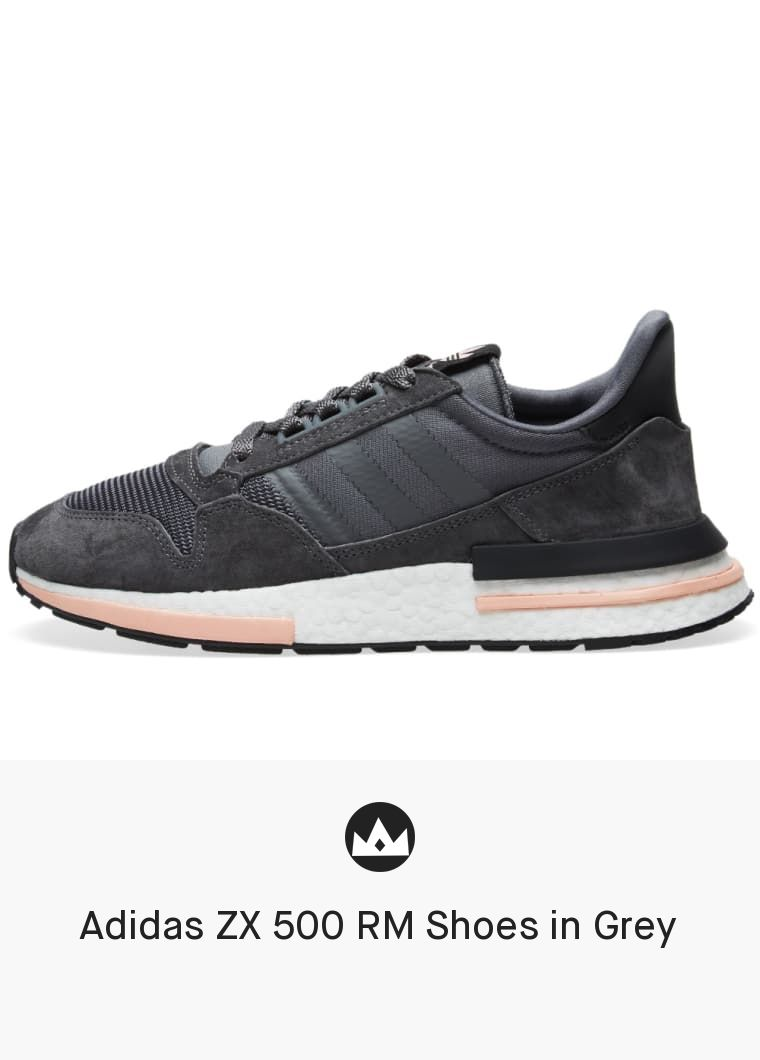 separation shoes fe61d 1e96e Adidas ZX 500 RM Shoes in Grey  men  shoes  black  sneakers
