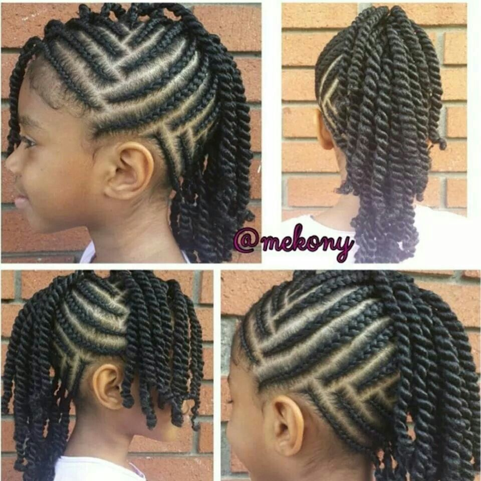 Braided and twisted photo pinterest hair style kid hairstyles