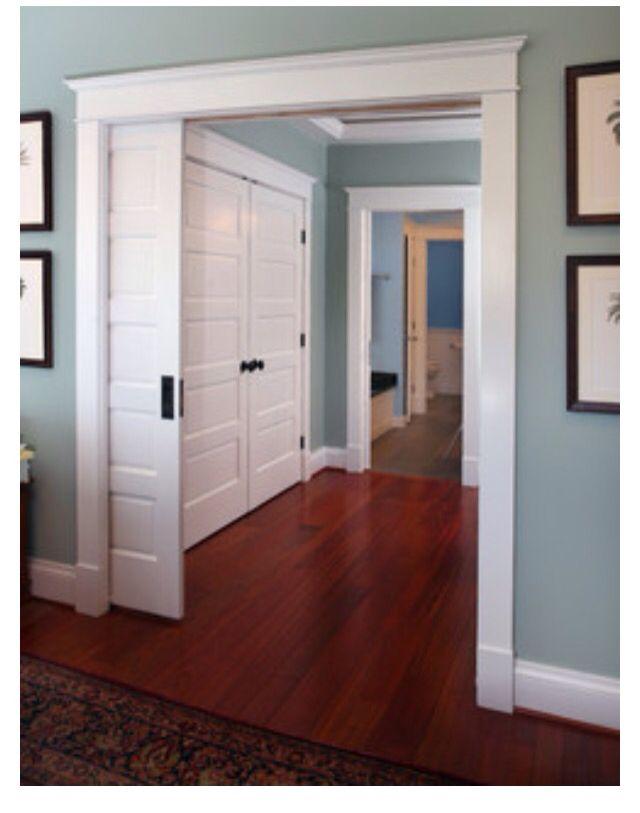 Love be the molding around the doorway Living Room Pinterest