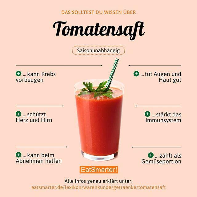 Ein paar Gründe warum ihr Tomatensaft nicht nur im Flugzeug trinken solltet. Od