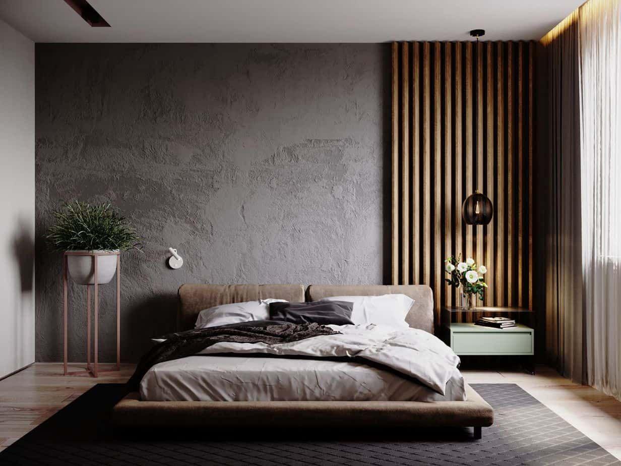 Bedroom Design Ideas 2021 Modern Rustic Interior In 2020 Modern Master Bedroom Design Luxurious Bedrooms Luxury Bedroom Design
