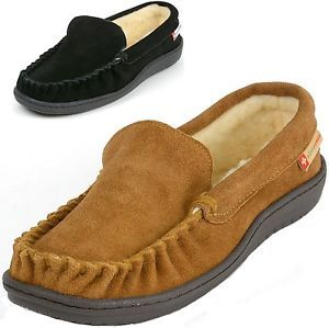 b051088ba Alpine Swiss Sabine Womens Suede Shearling Moccasin Slippers House Shoes  Slip On $19.99 $38.00 (3851 Available) End Date: Oct 212016 07:59 AM  GMT-07:00