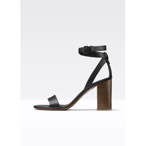 Farley Block Heeled Sandal - Black