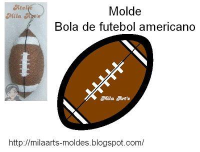 Mila Arts - moldes e PAP  Chaveiro Bolas de feltro - com molde ... 9ac192f28088c