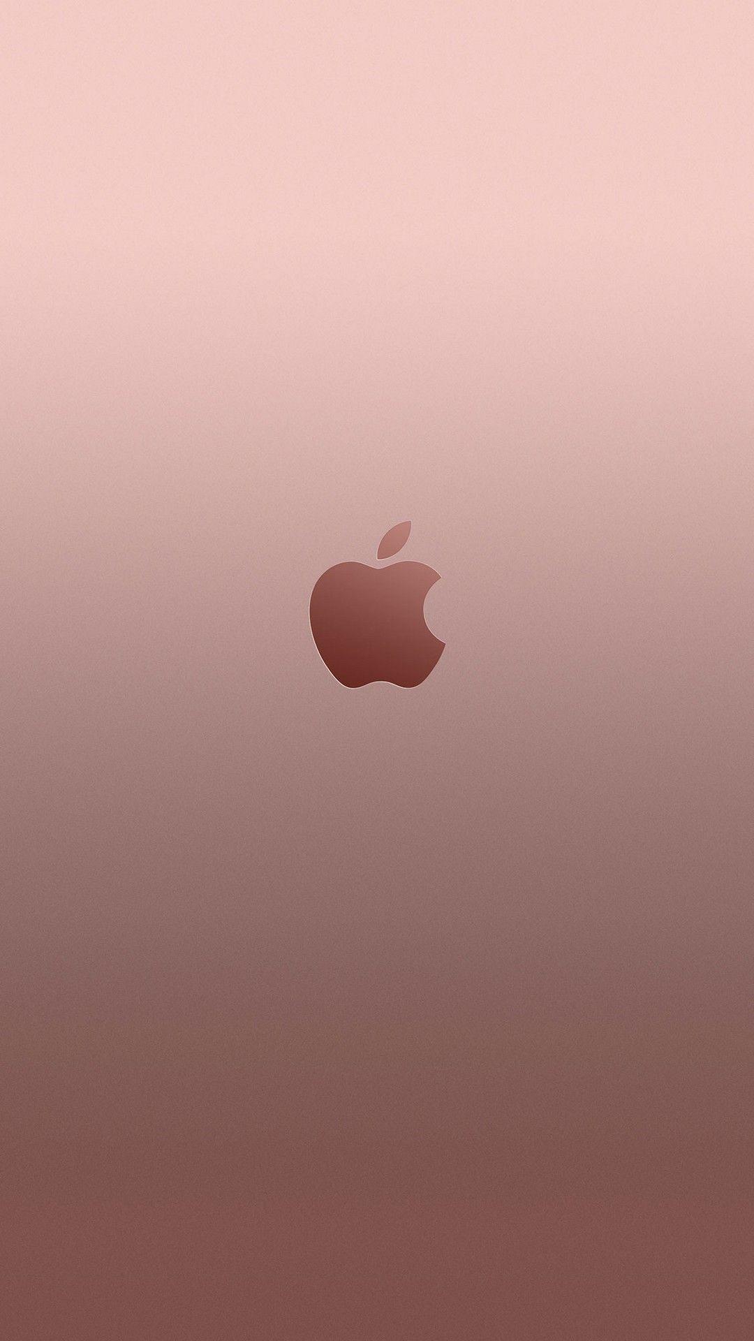 1080x1920 6 Plus Rose Gold Apple Apple Wallpaper Iphone Apple Wallpaper Apple Logo Wallpaper Iphone