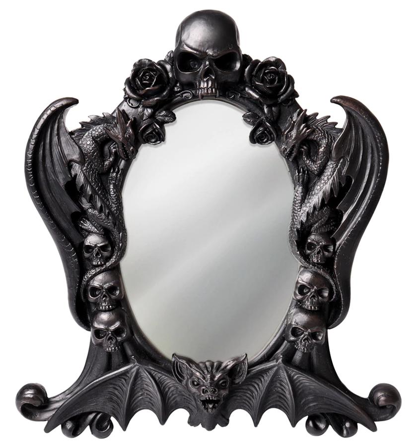 Alchemy Of England Nosferatu Mirror Gothic Mirror Horror Style Black Dragon
