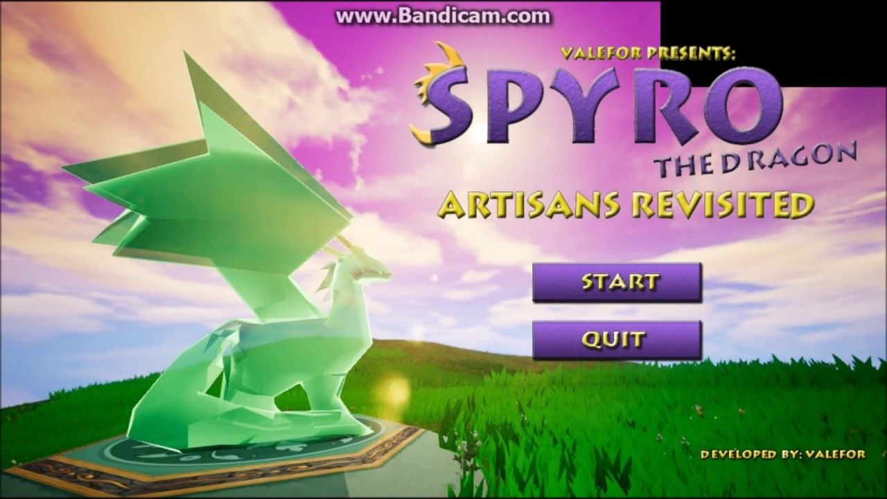 spyro fan games