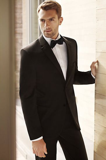 dfa734f3df2 There is nothing more handsome and sexy than a man wearing a Black Tuxedo...this  one is from the Vera Wang Groom Tuxedo Collection
