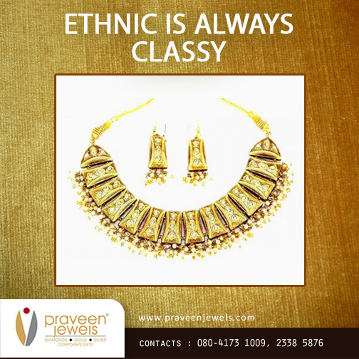 Be it dangling #jumkas or those heavy #necklaces studded with precious stones, #ethnic jewelry has a beauty associated with itself that's timeless!  http://bit.ly/1uVDMxN