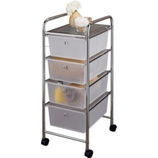 4 Drawer Storage Trolley On Wheels At Argos Co Uk Your Online
