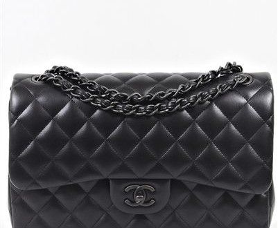 Black Chanel bag reference guide advise to wear in autumn in 2019